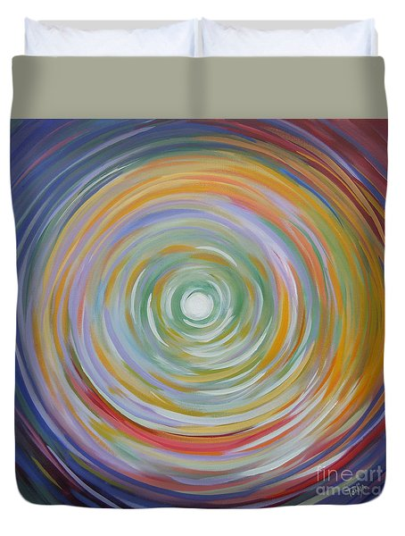 Circle In A Square Duvet Cover