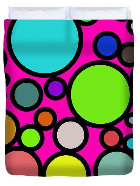 Circles Galore Duvet Cover