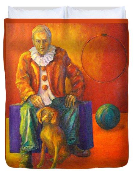 Circus Duvet Cover by Dagmar Helbig