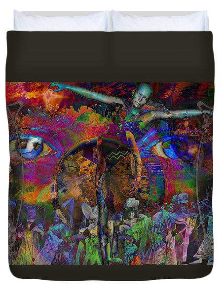 Solar Mind Duvet Cover by Joseph Mosley