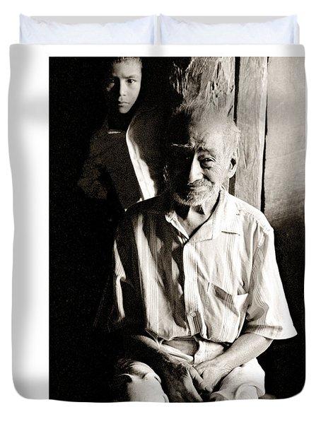Duvet Cover featuring the photograph Cirio Hernandez by Tina Manley