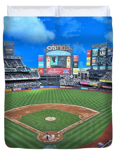 Citi Field Duvet Cover