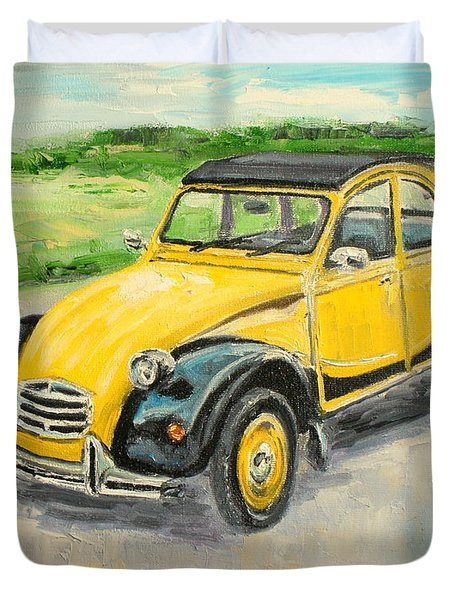 Citroen 2cv Duvet Cover