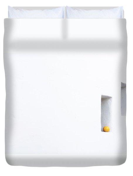 Citrus Simplicity Duvet Cover