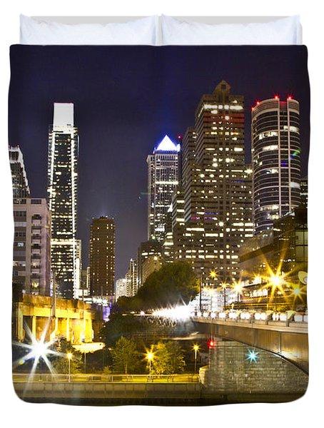 City Alive Duvet Cover