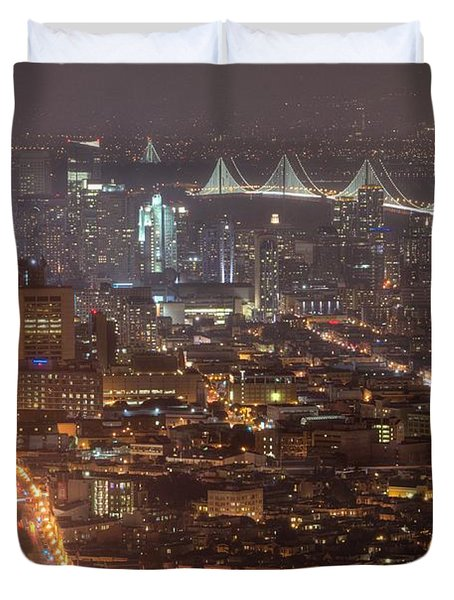 City Lava Duvet Cover