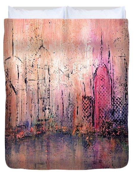 City Of Hope Duvet Cover