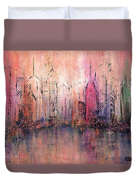 City Of Hope Duvet Cover