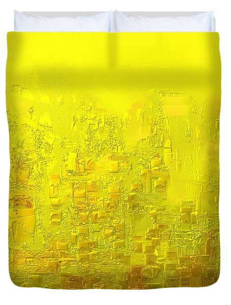 City Of Joy 2013 Duvet Cover by Rabi Khan