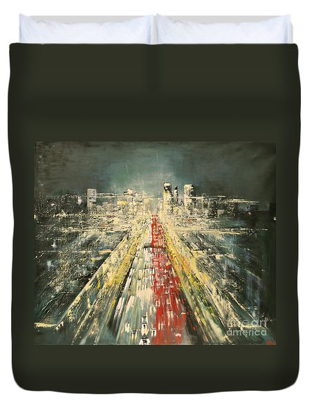 City Of Paris Duvet Cover