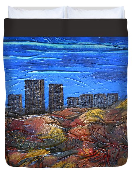 City Of Trees Duvet Cover