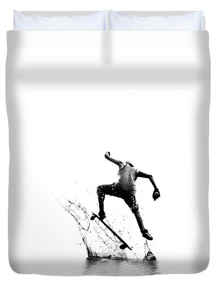 City Surfer Duvet Cover
