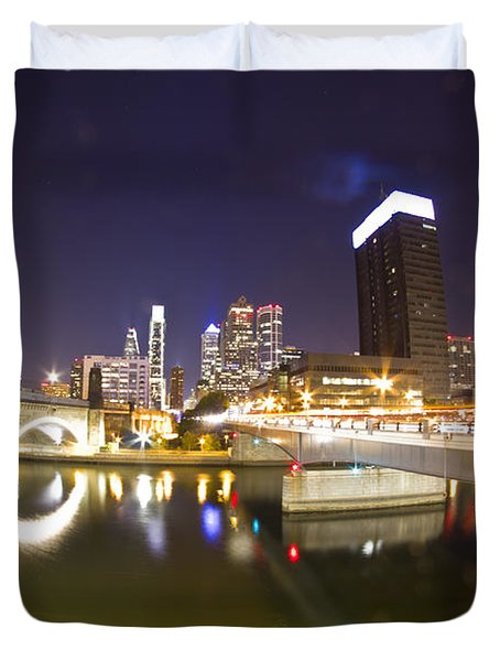 City's Reflection Duvet Cover