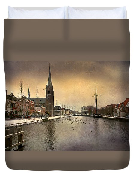 Cityscape Duvet Cover by Annie Snel