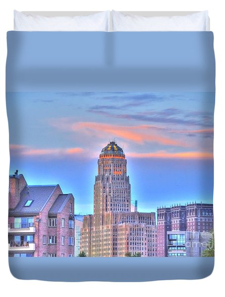 Cityscape Duvet Cover by Kathleen Struckle
