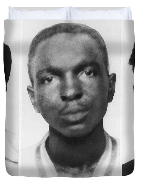 Civil Rights Workers Murdered Duvet Cover