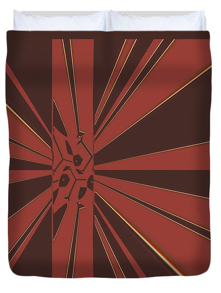 Civilities Duvet Cover by Judi Suni Hall