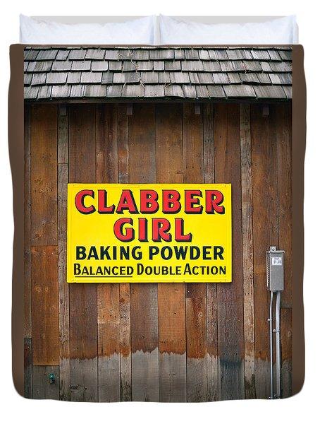 Clabber Girl Duvet Cover