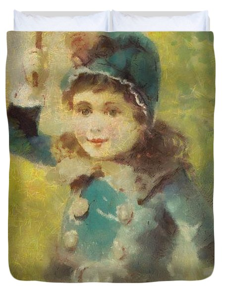 Clark's Spool Cotton Duvet Cover