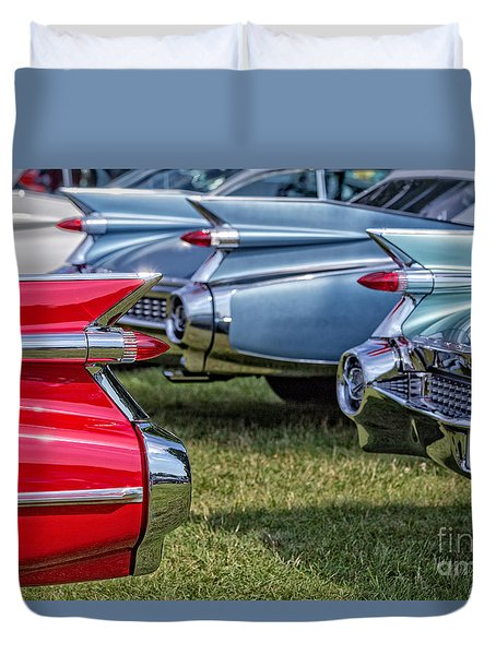 Classic Caddy Fin Party Duvet Cover by Edward Fielding