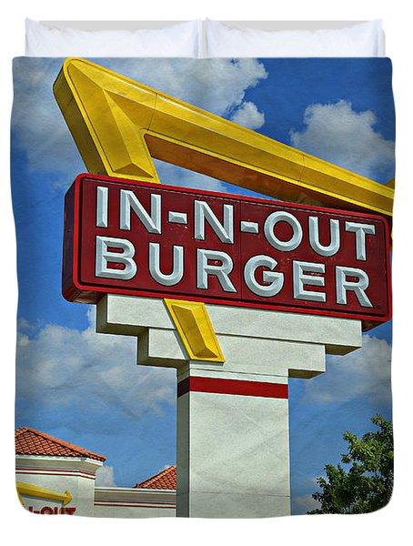 Classic Cali Burger 1.1 Duvet Cover