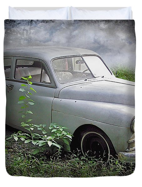Classic Car Duvet Cover by Brian Wallace