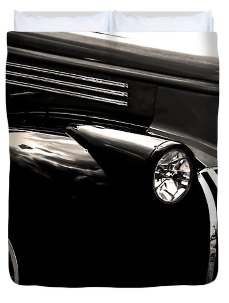 Classic Chevy Truck Duvet Cover by Optical Playground By MP Ray