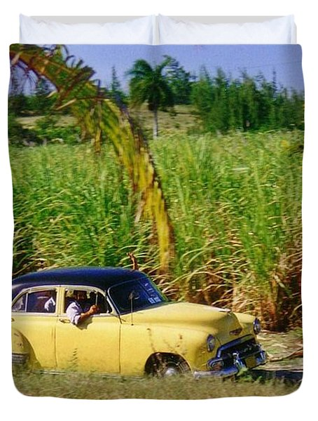 Classic Cuba Duvet Cover by Halifax Photographer John Malone