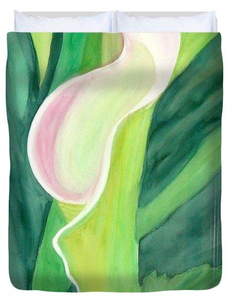 Classic Flower Duvet Cover
