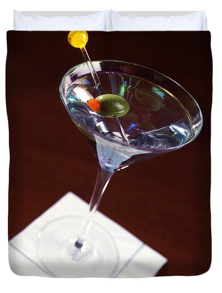 Classic Martini Duvet Cover by Jon Neidert