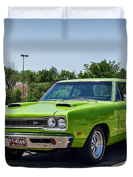 Classic Muscle Duvet Cover