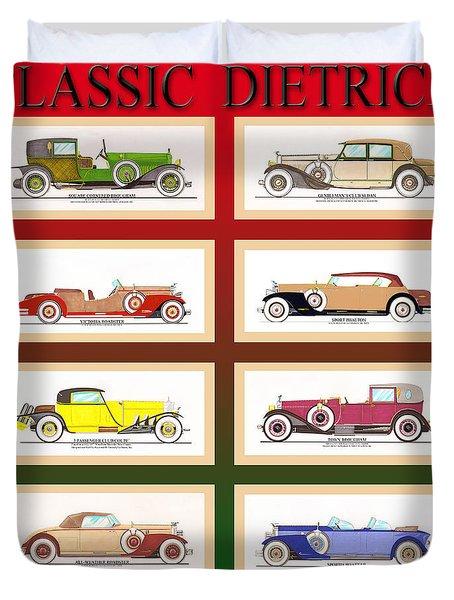 Raymond H. Dietrich Poster Duvet Cover by Jack Pumphrey