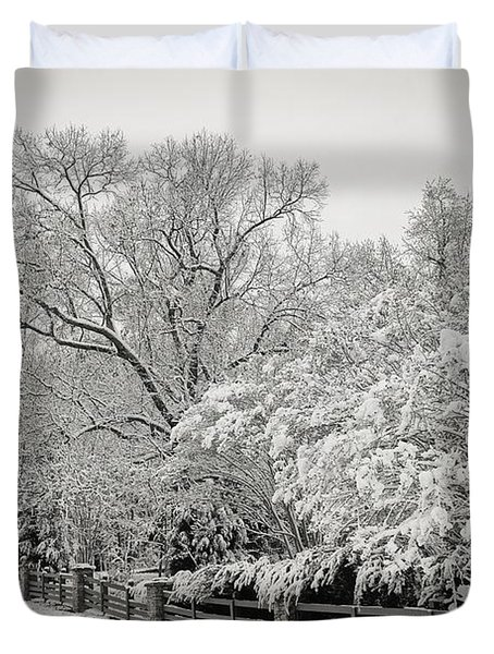 Classic Snow Duvet Cover