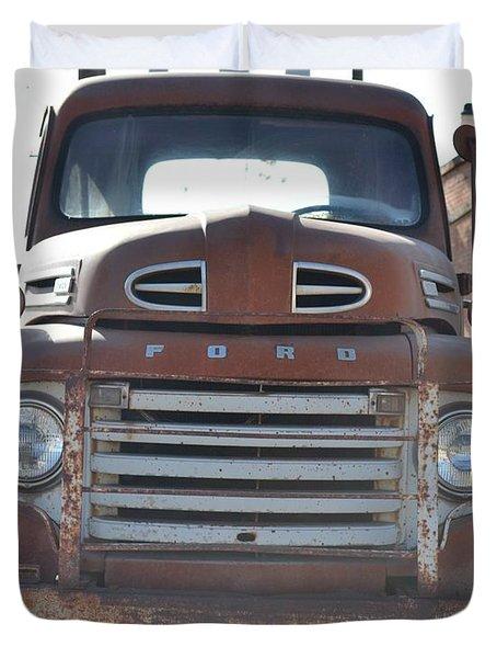 Classic Truck  Duvet Cover