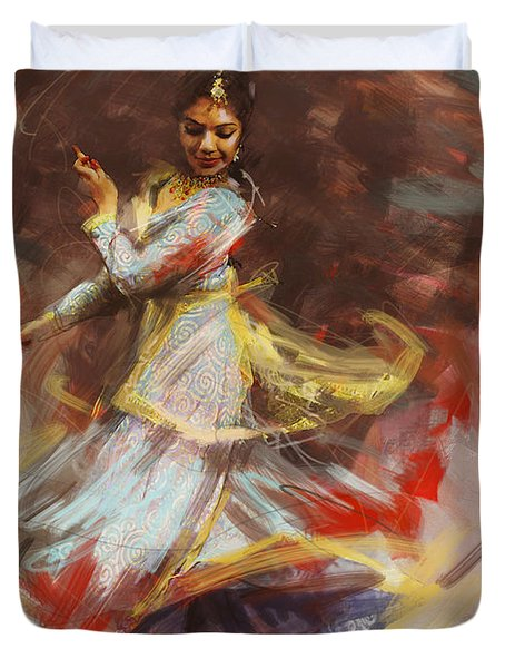 Classical Dance Art 8 Duvet Cover