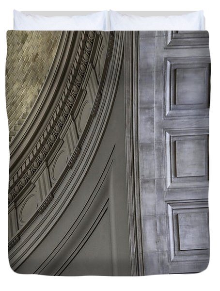 Classical Dome And Vault Details Duvet Cover by Lynn Palmer