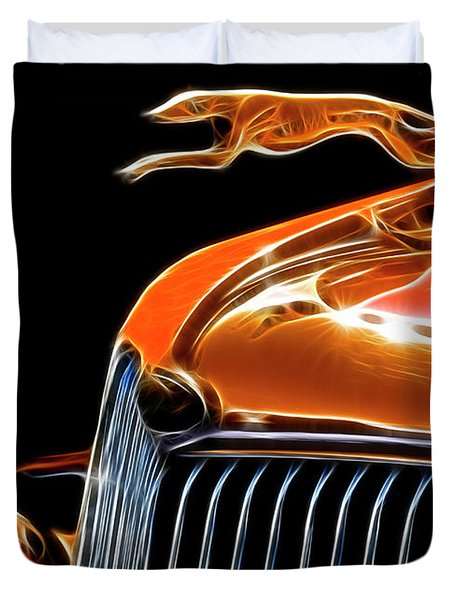 Classy Classic  Duvet Cover by Bob Christopher