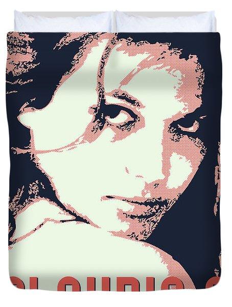 Claudia C Duvet Cover by Chungkong Art