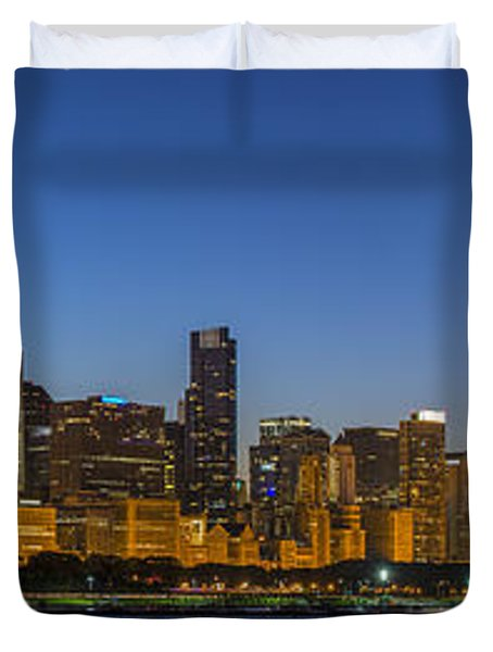 Duvet Cover featuring the photograph Clear Blue Sky by Sebastian Musial