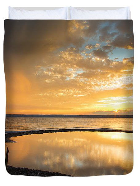 Clearing Rainstorm Duvet Cover