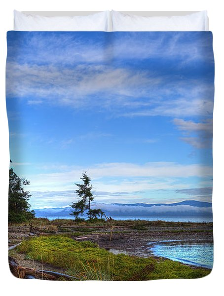 Clearing Skies Duvet Cover