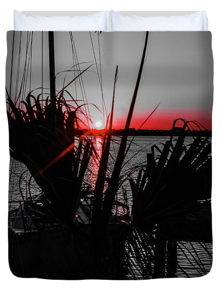 Clearwater Sunrise Duvet Cover