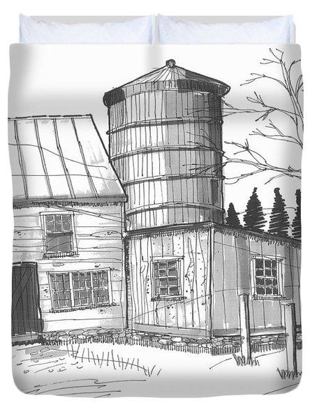 Clermont Barn 1 Duvet Cover