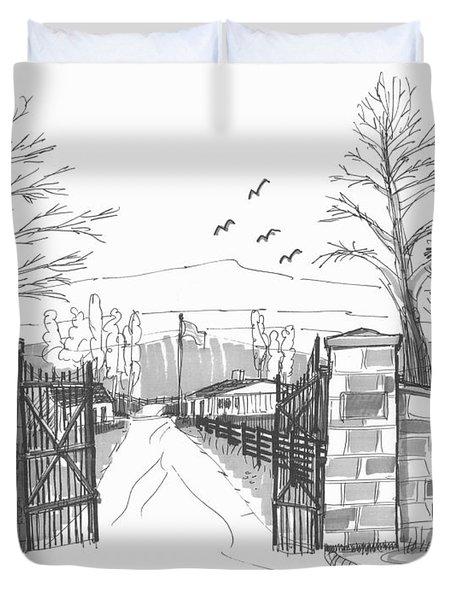 Clermont Farm Gate Duvet Cover