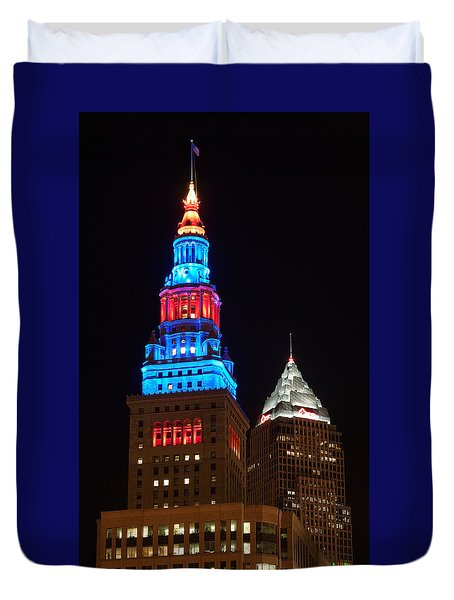 Cleveland Towers Duvet Cover