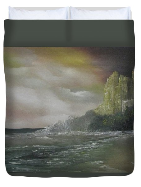 Cliff Bay Duvet Cover
