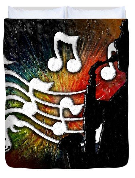 Cliff Notes Duvet Cover