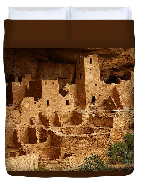 Cliff Palace Duvet Cover