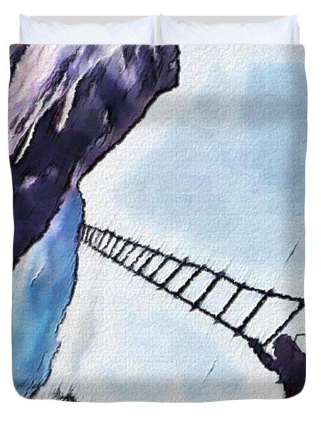Climb Duvet Cover