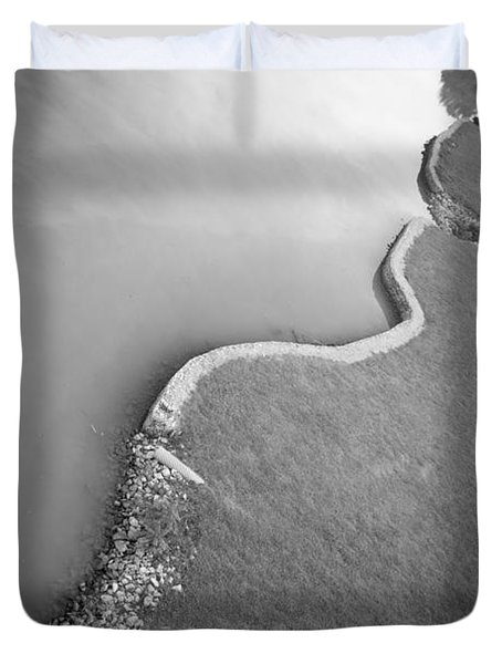Clinch River Duvet Cover by Melinda Fawver
